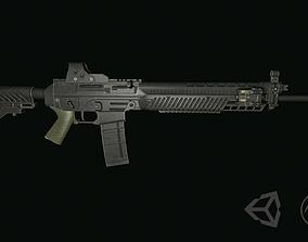 SIG 556 3D asset
