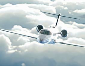 Lear Jet 45 3D model