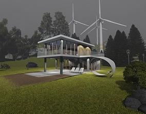 Summer House 3D model
