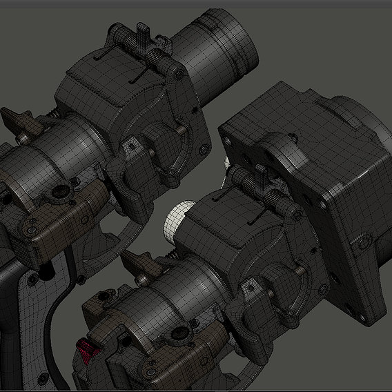 British MK 1 & MK 2 Pressure Cabin Flare Pistol