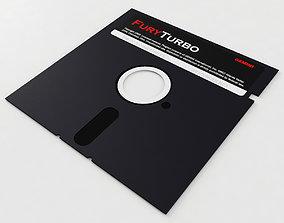 3D 5 Inch Floppy Disk
