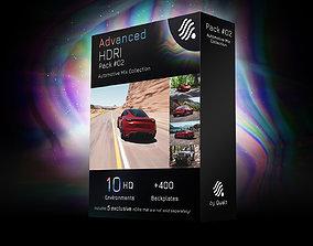 3D hdris 10 HDRIs - Automotive - Mix - Pack 02