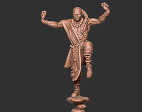 Shaolin monk remix - 35mm scale 3D print model