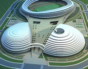 Stadium Buildings 3D model