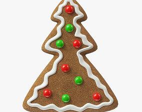 gingerbread cookie 06 3D model