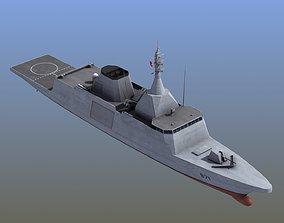 Gowind 2500 Frigate 3D model