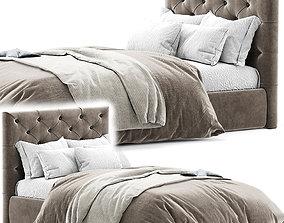 3D Kingston Queen Bed
