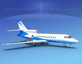 Dassault Falcon 900 V06 3D model