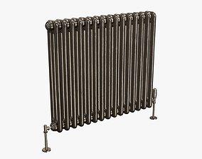 3D model Column bare radiator horizontal 02