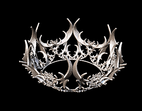 Crown 3D model stl format file