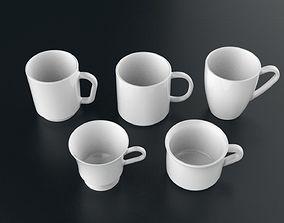 Mug Collection 01 3D