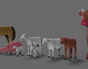 3D model Farm 1