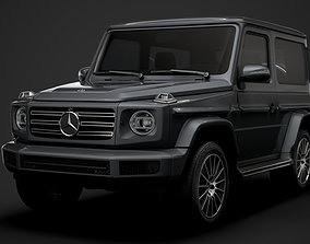 3D Mercedes Benz G 550 3 door W463 2020