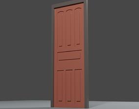 architectural 3D model Simple Door