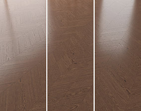 Parquet Oak Walnut Brushed set 1 3D