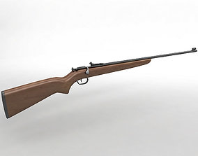 Winchester Model 67 22 Rimfire Rifle 3D asset