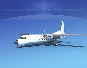 Fairchild FH-27 Unmarked 1 3D model