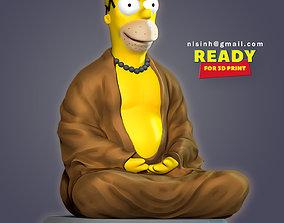 Homer Simpson 3D printable model