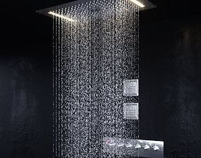 Shower Set simulation 3D model