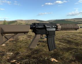 MK-18 CQBR 3D model weaponry