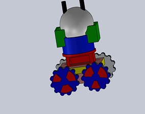 Robot Ready to Build From 3D printed parts
