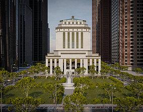 3D model SKYSCRAPER CITY BUILDING 10