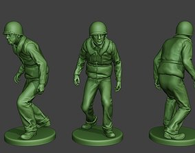 US Navy Sailor ww2 Walk2 USN1 3D printable model