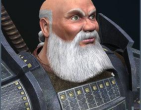 Dwarf Champion 3D asset