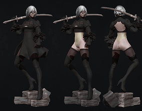 video-game 2B - nier automata - 3d print figurine