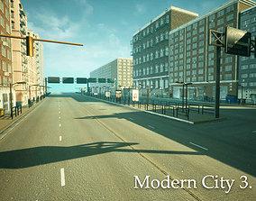3D asset Modern City 3 Unreal Engine
