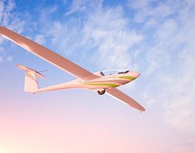 3D asset Alisport - Silent 2 electro - sailplane - 3