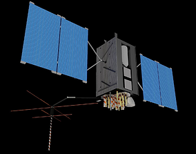 3D GPS Block III Satellite
