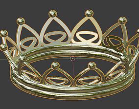 Unisex Crown 3D print model