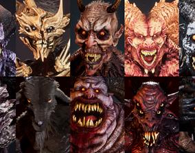 3D model Demons Full Pack