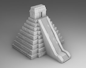 The tomb of Maya 3D printable model