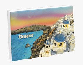 Greece Magnet Souvenir 3D print model
