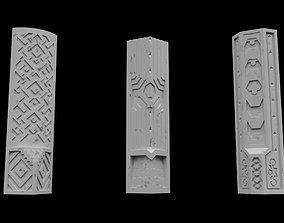 Modular Dwarven Pillars roleplayinggames 3D print model
