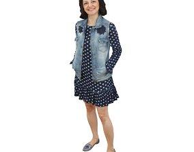No317 - Woman Standing 3D model