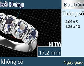 3D printable model brand ring vip