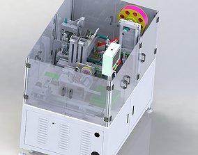 3D model Hot pressing plastic sealing machine