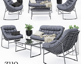 ZUO outdoor furniture 3D model