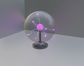 3D Plasma Globe Animated
