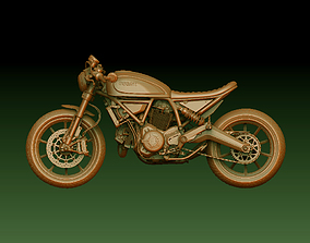 scans 3D printable model Motorcycle