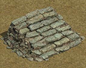 Field - stone steps 032 3D model