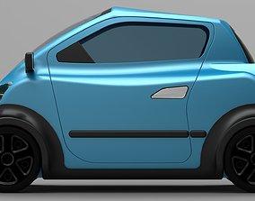 Electric Car Concept 3D print model