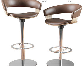 Barstool and Counter Stool Mollie Allermuir 3D