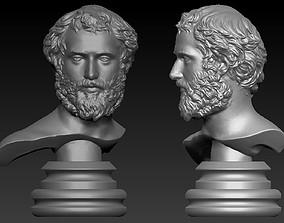art Roman Bust 3d model