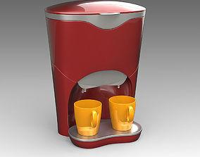 3D model Coffee Machine 07
