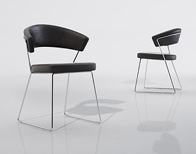 office-furniture 3D Calligaris New York Chair