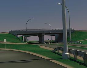 HighWay Overpass 3D model